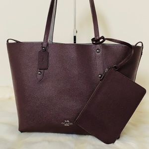 New💃Coach Large Reversible Market Tote
